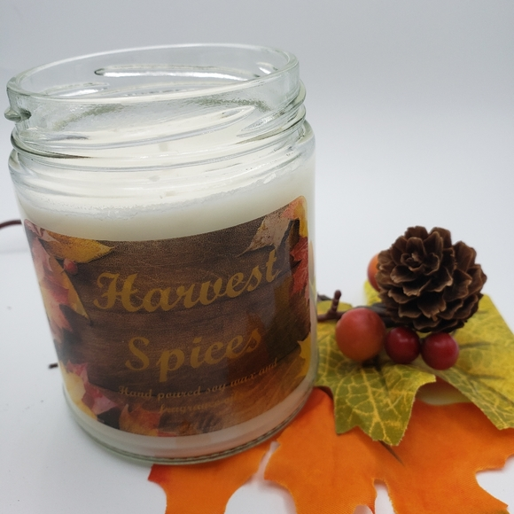 Harvest Spices Scented Candle
